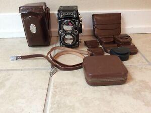 Rolleiflex 2.8e tlr camera