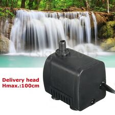 400L/H Submersible Aquarium Fountain Pond Small Fish Tank 110-220V Water Pump