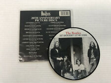 THE BEATLES-GET BACK/DON'T LET ME DOWN-20th ANN PICTURE DISC-DISC 9.0