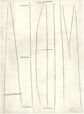 """Günther Uecker Mappenwek """"Medea""""mit 12 handsignierten Radierungen aus 1996"""