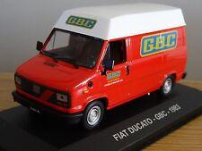 IXO ALTAYA GBC ELECTRONICS FIAT DUCATO 1983 VAN MODEL HF072 1:43