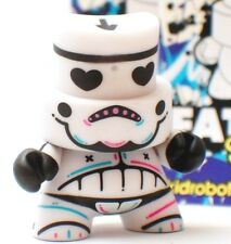 Kidrobot Fatcap Series 3 Kronk Love Stormtrooper White Vinyl Grafitti Art Figure