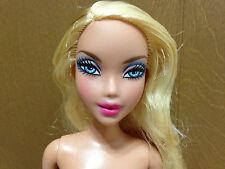 Barbie My Scene PJ Party Kennedy Doll Blue Eye Blonde Hair Nude OOAK Play