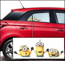 AUTO-ADHÉSIF Despicable Me Minion 2 autocollant de voiture verre fenêtre B 95