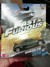 Fast Furious Mattel 2010 KOENIGSEGG CCXR # 17