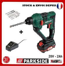 Parkside 20V Marteau Perforateur sans fil PABH 20-LiB2 + chargeur & batterie 2Ah