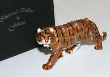 TIGER Standing Trinket Box / Ornament Gift *NEW* Boxed