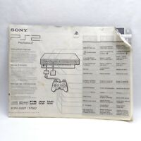 Sony Playstation 2 PS2 Fat System Console Instruction Manual Booklet