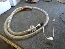 Varian Type 0531 Vacuum Gauge & Hose from Agilent Varian 4000MS Spectrometer