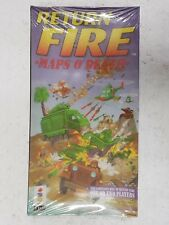 3DO PANASONIC RETURN FIRE : MAPS O' DEATH COMPANION DISC LONGBOX SEALED