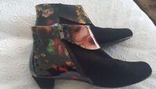 Block Leather Django & Juliette Boots for Women