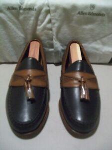 New 1st Quality Allen Edmonds Flagstaff Maxfield 6.5 EEE black/brown