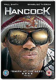 Hancock (DVD, 2008) Will Smith, Charlize Theron. Brand New Factory Sealed