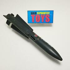 GI Joe Skystriker v1 jet gray LARGE MISSILE rocket bomb vehicle part vtg 1983