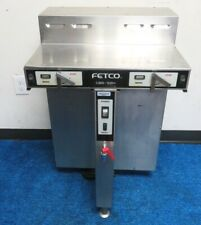 Fetco Cbs-52H15 2-Station 1.5-Gal Thermal Coffee Brewer Dual-Twin
