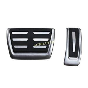 For Audi Q5 Q7 Q8 A4 B9 A5 A6 Porsche Cayenne Foot Gas Brake Pedal Pad Cover Cap