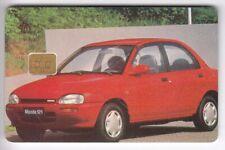 EUROPE  TELECARTE / PHONECARD .. REP. TCHEQUE 100K AUTO CAR MAZDA 94 CHIP/PUCE