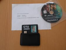24 The Game PS2 Press Kit with Jack Bauer ID card brand new