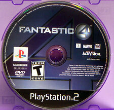 Fantastic 4 (Sony PlayStation 2, 2005) The Human Torch, The Thing & More!