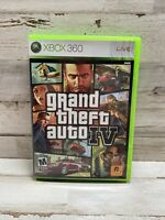 Grand Theft Auto IV Liberty City - Xbox 360 Game - Complete CIB with Map