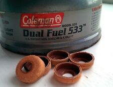 One Coleman Leather Pump Cup - Fits All Coleman Stoves, Lanterns (washer seal 1)