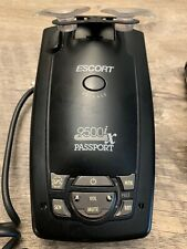 Escort Passport 9500ix Radar Detector - Black, Police laser, red light detector