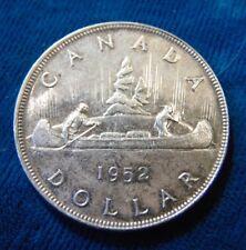 CANADA Canadian 1952 FWL .800 silver dollar King George VI AU-UNC