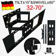 LED LCD HDTV TV Fernseher Wandhalterung schwenkbar Wandhalter neigbar 32–75 Neu