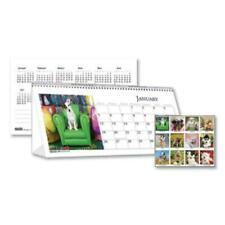 House Of Doolittle Hod3659 Recycled Puppy Photos Desk Tent Monthly Calendar, 8.5