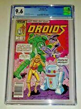 Droids #1 - CGC 9.6 White Pages (Marvel / Star Comics, 1986) Star Wars C3PO R2D2