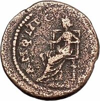 SEVERUS ALEXANDER 222AD Amphipolis Macedonia Luck Ancient Roman Coin i46858