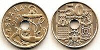 Estado Español - 50 Centimos 1949*19-53. Madrid. SC/UNC/FDC. Escasa