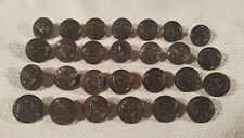 (27) USMC N.S. Meyer Superior Quality Buttons ~ Brown Bronze Front & Brass Back