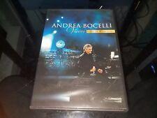 """Andrea Bocelli - """"Vivere"""" Live In Tuscany DVD, 2008, 2-Disc Set, DVD/CD"""