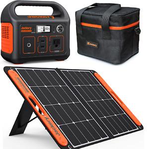Jackery Explorateur 500 Puissance Station Générateur Urgence + 100W Solar