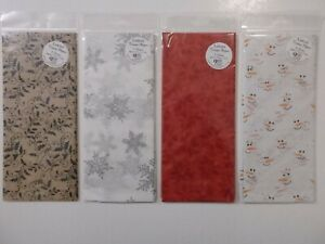 3 Sheets Luxury Christmas Tissue Paper 50 x 70cm (approx) Choice of 4