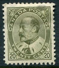 CANADA #94 VF Original Gum Issue Hinge Remnant Thin - King Edward VII - S7987