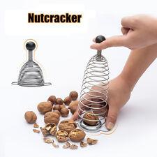 Cocina Tool Nuez Cracker Nutcracker Stainless Spring Sheller Opener Cascanueces