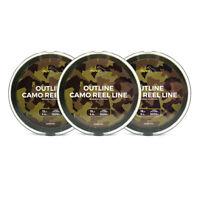 Avid Carp Outline Camo Reel Line 1000m Spool *New* - Free Delivery
