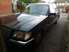 MERCEDES-BENZ W140 S320 LIMO BUSINESS EDITION 1998, NORTH WALES, HOLYWELL, RARE!