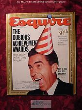 ESQUIRE January 1992 DUBIOUS ACHIEVEMENT AWARDS 1991 ++