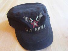 Basecap Army Cap Trucker Cap schwarz