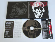 YOUTHQUAKE Apocalypse CD 2001 MEGA RARE THRASH/DEATH ORIGINAL 1st PRESS JAPAN!!!