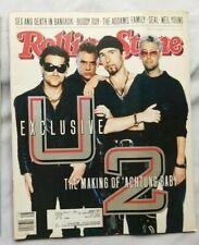U2 November 28 1991 Rolling Stones Magazine