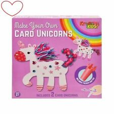 Unicorn crafts make design your own cards art