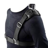 Camera Single Shoulder Chest Strap Mount Holder Belts For GOPRO Hero4/3+3/2/1