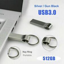 USB Stick 512GB Metall U-Disk Flash Laufwerk Schlüsselanhänger Speicherstick DE