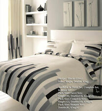 Blocks Modern Style Duvet Covers Quilt Covers Reversible Bedding Sets All Sizes
