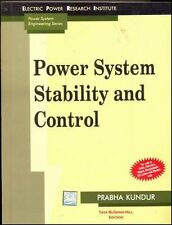 Power System Stability and Control by Prabha Kundur (1994, Hardcover)