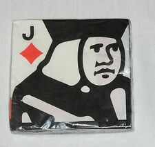 ~~POKER CASINO CARD NIGHT~16--PAPER LUNCH NAPKINS HALLMARK   PARTY SUPPLIES
